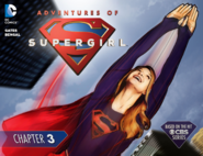 Adventures of Supergirl chapter 3 cover