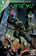 Arrow capítulo 9 portada digital
