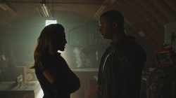 Black Canary and Spartan lie to each other