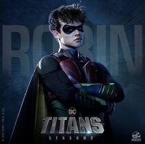 TitansT2 - Robin poster