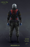 Wild Dog 2.0 (back) concept art