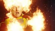 Firestorm (Martin Stein; in costume)