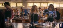 Courtney e Cindy a chimica