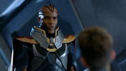 Novu tells Kara that the Book of Destiny has limits