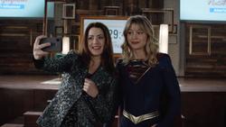 Supergirl as Andrea Rojas's bodyguard