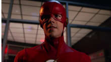 The Flash in Ryan Choi suit