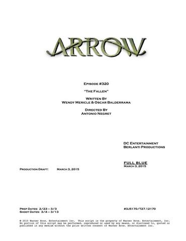 File:Arrow script title page - The Fallen.png