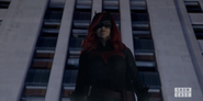 Batwoman at Batsignal rally