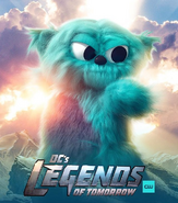 DC's Legends of Tomorrow season 3 - Beebo promotional image