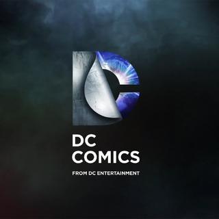 """Logo DC Comics odnoszące się do serialu """"<a href="""