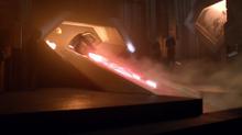 A nave de Régia é enviada de Krypton
