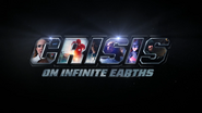 Crisis on Infinite Earths title card