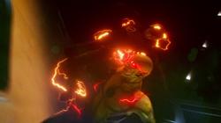 O Flash enfrentando Flash Reverso