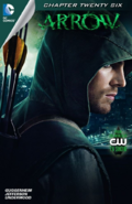 Arrow capítulo 26 portada digital