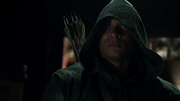 Diggle pretends The Hood for the first time