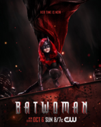 Batwoman poster - Her Time Is Now