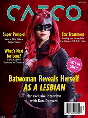 CatCo Magazine issue of Kara's interview with Batwoman