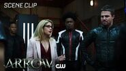 Arrow All For Nothing Scene The CW