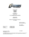 DC's Legends of Tomorrow script title page - Invasion!.png