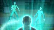 Hologram z innego świata opowiada Rayowi i Johnowi historię (3)