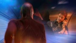 Barry Allen viéndose encarcelado