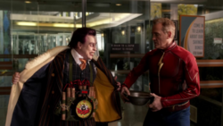 Jay Garrick vs Earth-3 Trickster