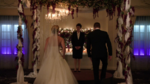 Oliver Queen and Felicity Smoak fake married