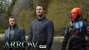 Arrow Lian Yu Scene The CW