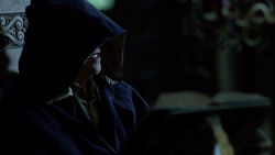 Felix Faust (hooded)
