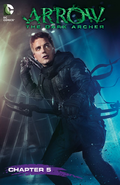 Arrow The Dark Archer capítulo 5 portada digital