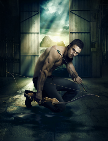 File:Arrow promo - A heroic future forged by a tortured past - textless.png