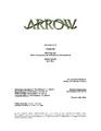 Arrow script title page - Tremors.png