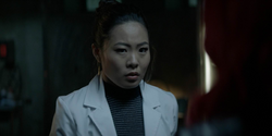 Mary warns Batwoman that Sophie knows her identity