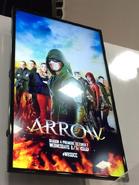 Arrow T4 SDCC poster