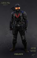 Arrow T5 - Vigilante Concept Art