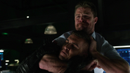 "Oliver Queen ""kills"" Adrian Chase"