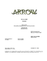 Arrow script title page - Genesis.png