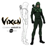 Vixen - Arrow arte conceptual