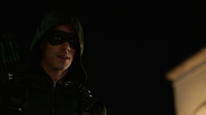 Barry Allen as Green Arrow