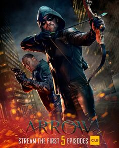 Brother in Arms. Arrow Season 8 Poster