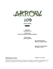 Arrow script title page - Invasion!