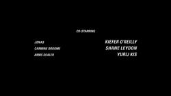 Carmine Broome in the end credits