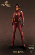 Jesse Quick concept artwork