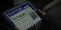 Nocturna in newspaper