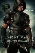 Arrow T4 Poster - Aim Higher