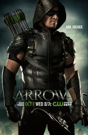 Arrow T4 Poster - Aim Higher