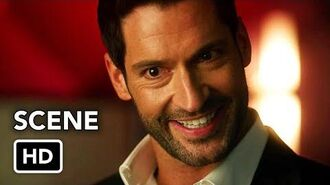 DCTV Crisis on Infinite Earths Crossover - Lucifer Cameo (HD) Tom Ellis Scene