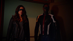Dinah and Mister Terrific are disgusted