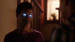 Savitar as Francine West