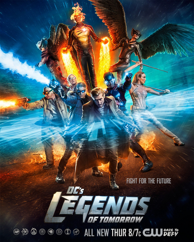 File:DC's Legends of Tomorrow season 1 poster - Fight For The Future.png